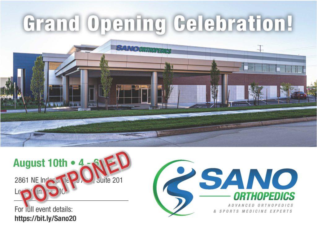grand opening sano