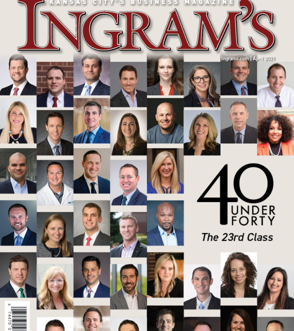 Dr. Daggett Recognized in Ingram's 40 Under Forty 2021