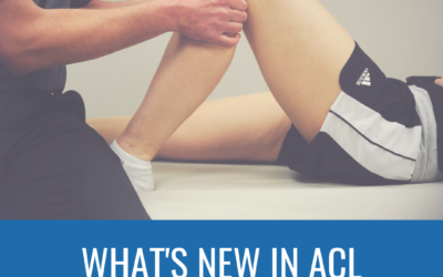 What's New in Treating ACL Injuries