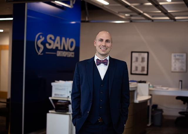 dr palmer at sano office